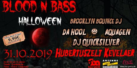 BLOOD N BASS - Halloween Party Tickets