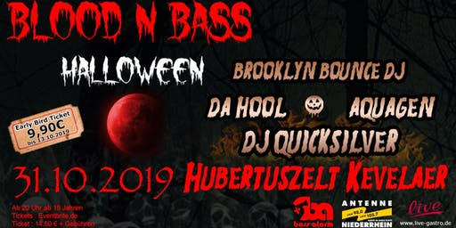 BLOOD N BASS - Halloween Party