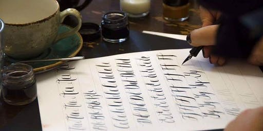 Christmas Calligraphy Workshop at The Paper Haven