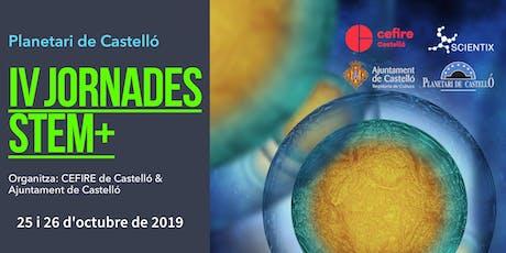 "Jornades Planetari ""IV Jornades STEM+"" entradas"