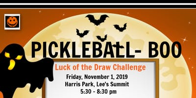 Pickleball BOO!  Luck of the Draw Challenge
