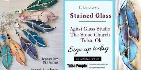 Mini Feathers Stained Glass Class tickets