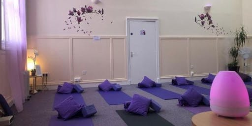 Yoga Unplugged- relax and unwind away from the stress of modern life.