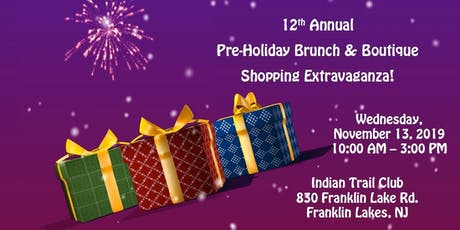 VHA Franklin Lakes Branch Pre-Holiday Brunch and Boutique tickets