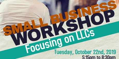 Paragon and LASPBC's Small Business Workshop: LLCs tickets