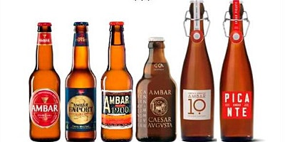 Visita a la fabrica AMBAR, degustación de cervezas y tapas