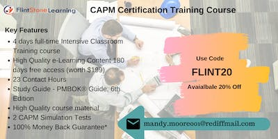 CAPM Bootcamp Training in Fort Collins, CO