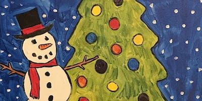 Mom & Me Christmas Painting