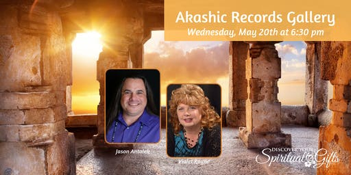Akashic Records Gallery with Jason Antalek & Vialet Rayne