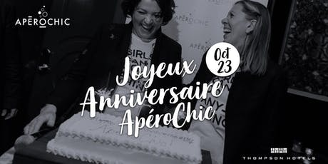ApéroChic 8th anniversary: Celebration at Thompson Rooftop tickets