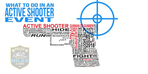 What to do in an Active Shooter Event!