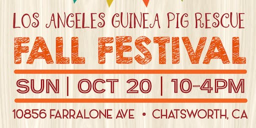 5th Annual Pet Guinea Pig Festival