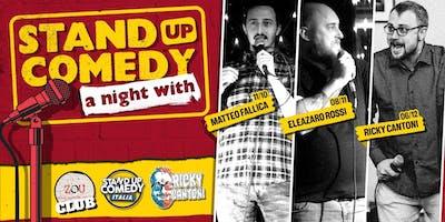 Stand Up Comedy Italia @Zou Club (BOLOGNA)
