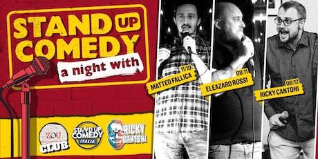 Stand Up Comedy Italia @Sghetto Club (BOLOGNA) biglietti