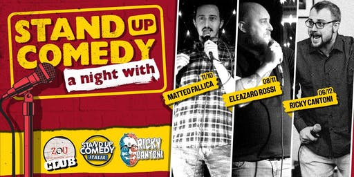 Stand Up Comedy Italia @Sghetto Club (BOLOGNA)