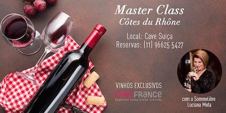 Masterclass Côtes Du Rhône ingressos