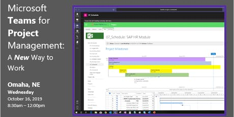 Microsoft Teams  for Project Management: A New Way to Work tickets