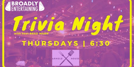 Trivia at The Arnold House tickets