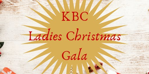 KBC Ladies Christmas Gala