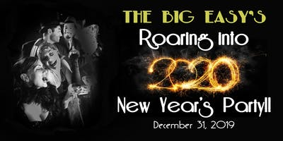 ROARING INTO 2020!! New Year's Eve Party at The Big Easy Downtown Raleigh