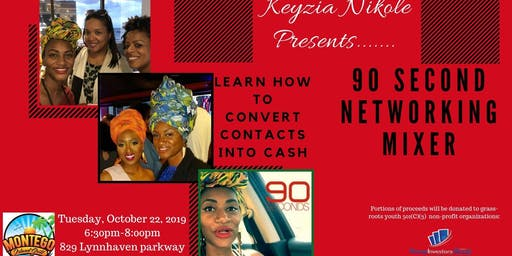 90 Second Networking Mixer