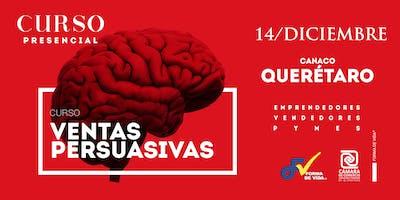 "Curso ""Ventas Persuasivas"" Querétaro"