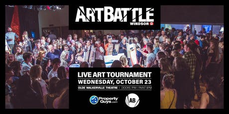 Art Battle Windsor - October 23, 2019 tickets