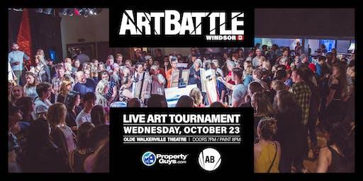 Art Battle Windsor - October 23, 2019