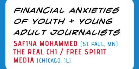VIDEO ROUNDTABLE: Financial Anxieties of Youth + Young Adult Journalists tickets