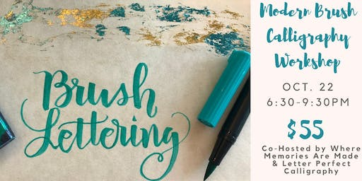 SOLD OUT Modern Brush Calligraphy