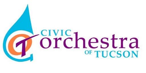 "Civic Orchestra of Tucson presents Free Concert: ""Symphonic Landscapes"""