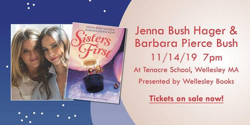 Jenna Bush Hager & Barbara Pierce Bush picturebook event