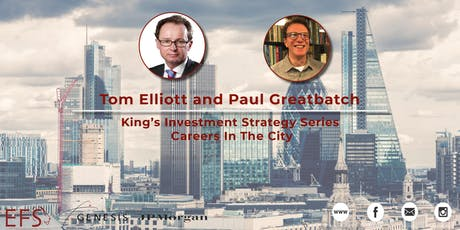 King's Investment Strategy Series (KISS): Careers In The City tickets