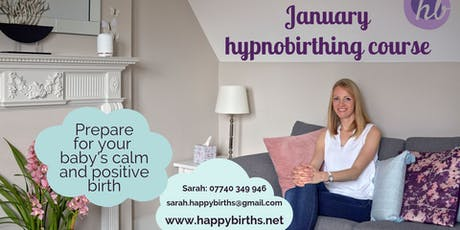 Hypnobirthing - Jan-Feb Sundays group course tickets