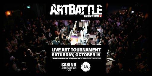 Art Battle Edmonton - October 19, 2019
