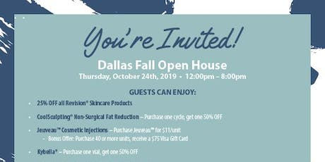 AYA™ Medical Spa Fall Open House Event tickets
