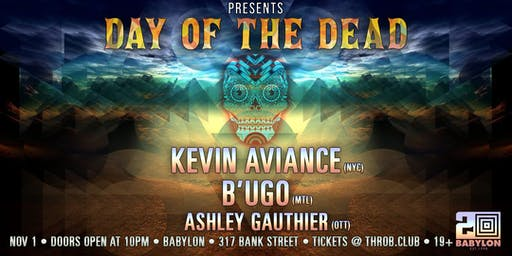 THROB - DAY OF THE DEAD EDITION feat. Kevin Aviance (NYC), B'UGO (MTL)