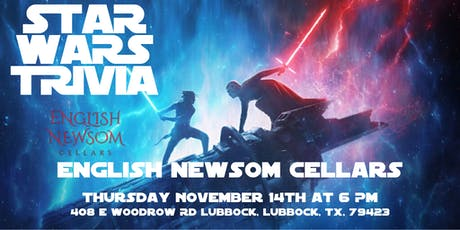 Star Wars Trivia at English Newsom Cellars tickets