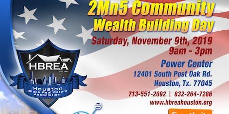 HBREA 2MN5 Veterans Community Wealth Building Day tickets
