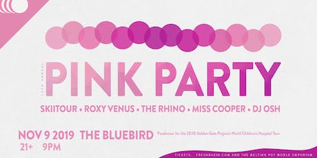 The 14th Annual Pink Party at The Bluebird ft SkiiTour tickets