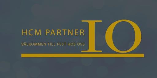 HCM Partner 10 år!