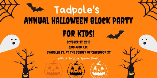 Tadpole's Annual Halloween Party