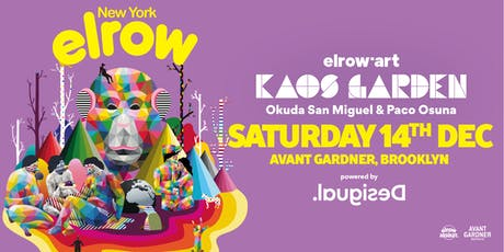 elrow Art goes to New York! tickets