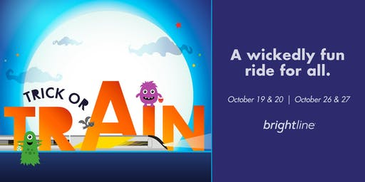Brightline Presents Trick-or-Train Halloween Spooktacular  - SOLD OUT