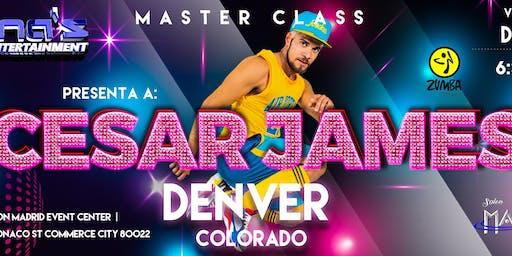 ''CESAR JAMES'' MASTER CLASS DENVER,CO