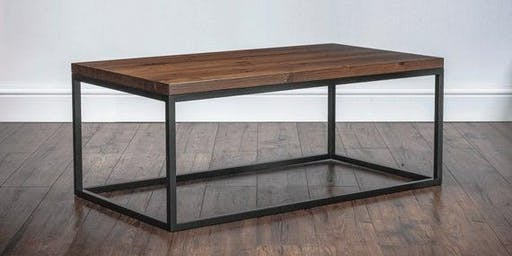 Coffee Table Making - Welding and Wood                             MPLSMAKE