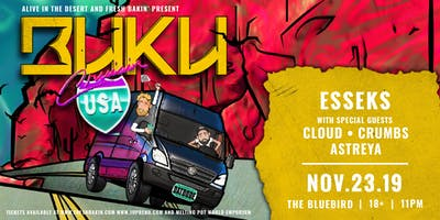 Buku & Esseks at The Bluebird  [Illenium Afterparty]