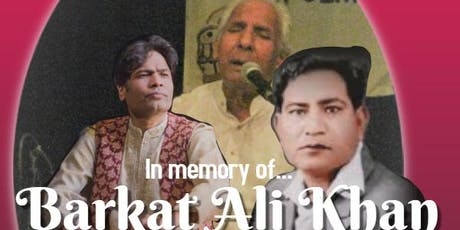 In Memory of Ustaad Barkat Ali Khan by Sur Bandhan tickets