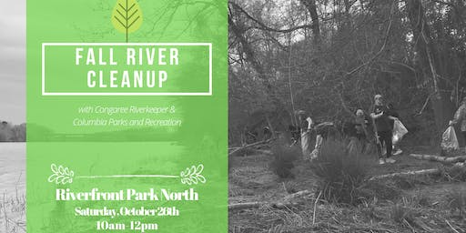 Fall Cleanup with Congaree Riverkeeper