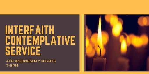 Wednesday Night Service: Interfaith Contemplative